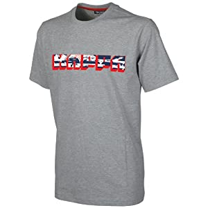 Kappa T-Shirt, Grey Melange, S, 303159