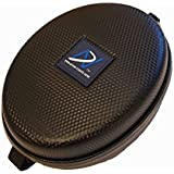 Upgrade Inward Foldable Headphone Carrying Case for Sony H.Ear On MDR-100AAP, Sony H.Ear On MDR-100ABN, Solo 2, Solo 2 Wireless, Jabra Revo, Jabra revo Wireless, Studio, Studio 2, Studio 2 wireless, UE6000, Sennheiser Momentum 2.0 and other similar size inward folding headphone models