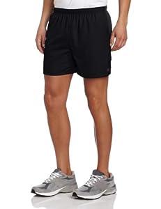 Mizuno Running Men's DryLite Rider Shorts, Black/Grey, XX-Large