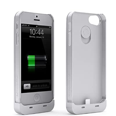 Maxboost Fusion Detachable External iPhone 5S Battery Case / iPhone 5 Battery Case - Fits All Versions of iPhone 5 / iPhone 5S - Lightning Output, MicroUSB Input from Maxboost