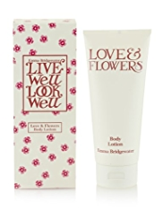 Emma Bridgewater Love & Flowers Body Lotion 200ml
