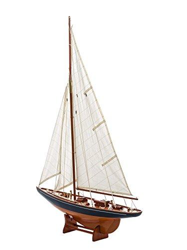 """Model sailing boat - wood - 3'8"""" (112cm)"""