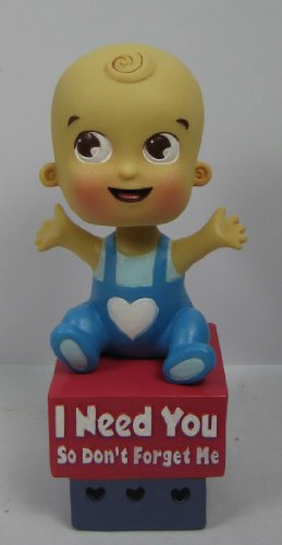 Baby Bobble Fresh Boy Bobble Head