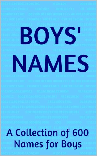Boys' Names: A Collection Of 600 Names For Boys front-119207