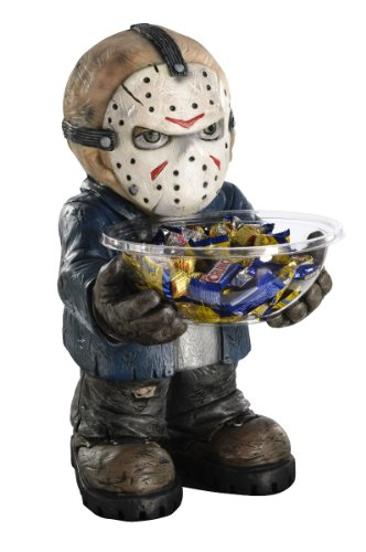 Rubies Jason Friday the 13th Halloween Candy Holder Bowl