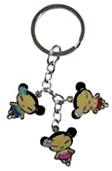 Pucca Hawaiian Keychain - Pucca Luau Charm Keychain