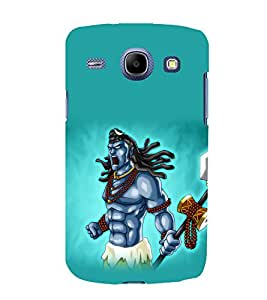 printtech Lord God Shiva Cartoon Back Case Cover for Samsung Galaxy On7