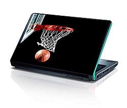 alterEgo Vinyl Laptop Skin- 13 IN, Basketball Hoop