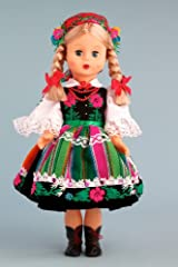 Lowiczan Girl (Lowiczanka) - 18 Inch Collectible Regional Doll