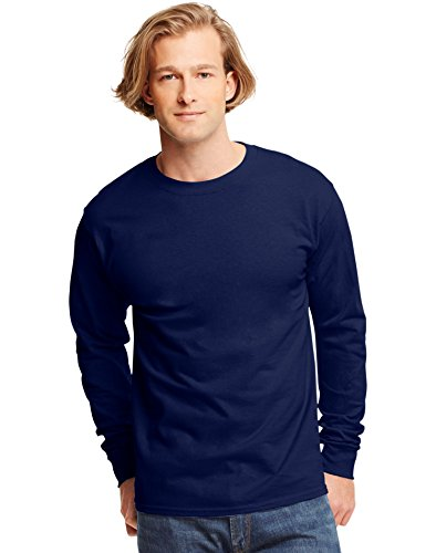 hanes-tagless-mens-long-sleeve-t-shirt-best-seller-5586-l-deep-navy