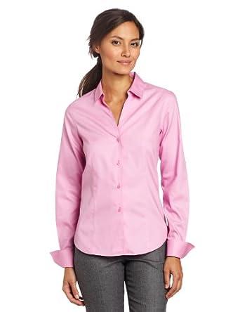 Jones New York Women 39 S Long Sleeve No Iron Easy Care Shirt