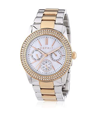 ESPRIT Watches Esprit Watch Peony Two Rose Gold Tone Silver