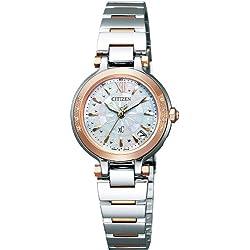 [シチズン]CITIZEN 腕時計 xC クロスシー MINISOL Eco-Drive エコ・ドライブ 電波時計 xC15周年記念モデル 【数量限定】 ES6014-55W レディース