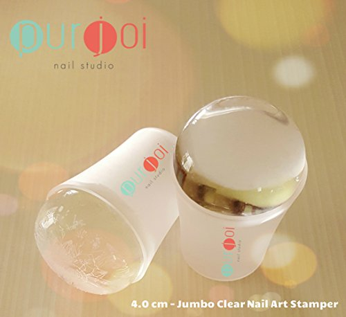 how to clean nail art stamper