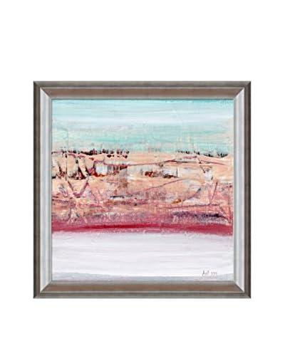 Lisa Carney Geo Horizon 15 Framed Giclée On Canvas