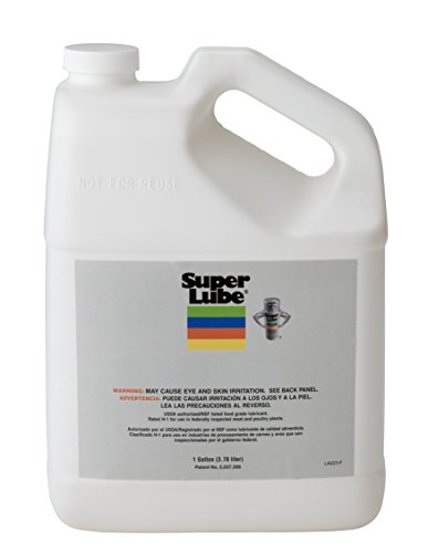 Super Lube 56501 Synthetic Silicone Oil 5000 cSt, 1 gal Bottle, Translucent Clear