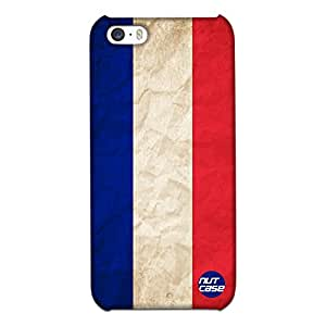 Designer iPhone 5S Case Cover Nutcase -French Vintage Distressed Flag