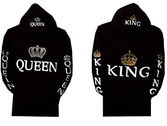 couple matching king and queen hoodie color. Black Bedroom Furniture Sets. Home Design Ideas