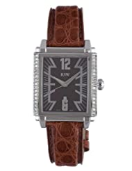 RSW Men's 9220.BS.A9.9.D1 Hampstead Diamond Stainless Steel Camel Brown Leather Date Watch