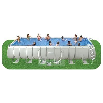 Intex ultra frame pool 24 39 x 12 39 x 52 - Ultra frame rectangular swimming pool ...