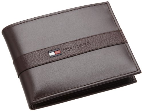 Tommy Hilfiger Mens Ranger Passcase, Brown, One Size
