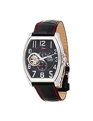 Orient Men's CFHAA002B Power Reserve Skeleton Black Automatic Watch