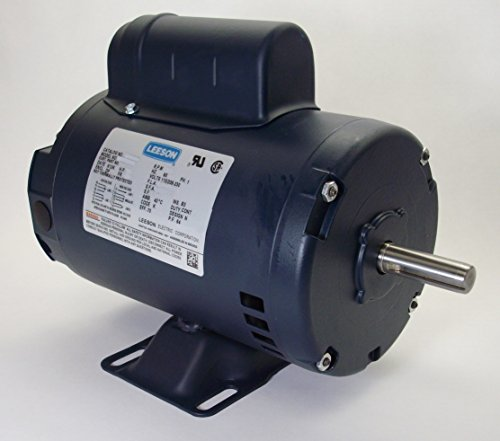 1 Hp 3450 Rpm 56 Frame 115/208-230 Volts Open Drip Leeson Electric Motor # 110360