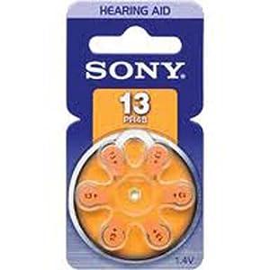 Sony PR13-D6A - battery - PR48 - zinc air x 6 (PR13D6A) -