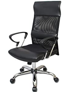 "Amazon.com - ""Berkshire"" Executive Mesh Ergonomic Office Chair w"