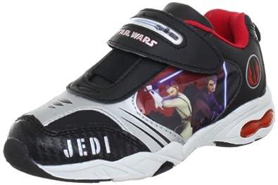 Star Wars Sport SW325298, Jungen Sportschuhe, Schwarz (BK/SI/BK/BK 008), EU 28