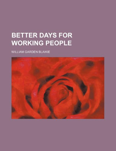 Better days for working people