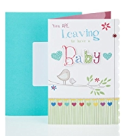Leaving to Have a Baby Greetings Card