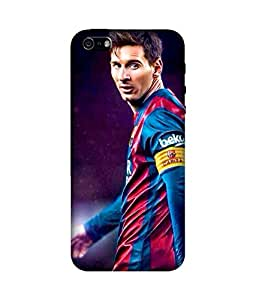 chnno messi 3d Printed Back Cover For Apple iPhone 5s