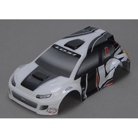 1/24 4WD Rally Painted Body, Gray - 1