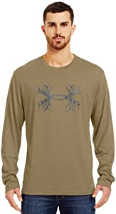 Under Armour Mens UA Antler Long Sleeve T-Shirt by Under Armour