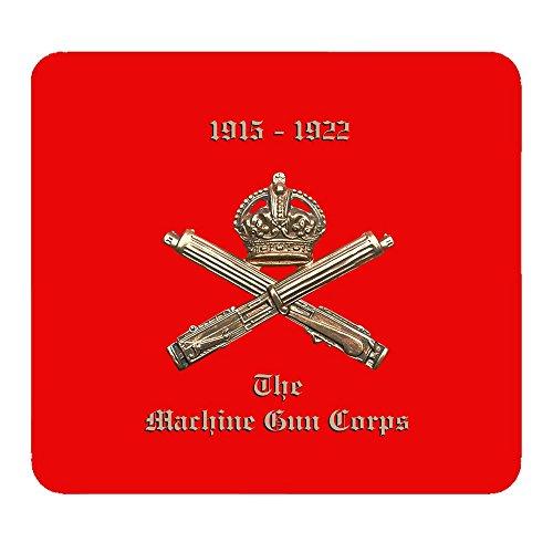 """Tappetino per il Mouse personalizzato, motivo """"Machine Gun Corps"""