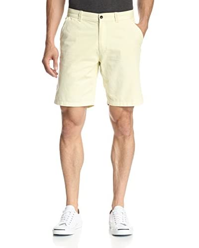 Borgo28 Men's Flat Front Canvas Short