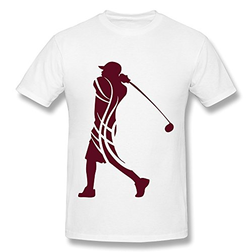 100% Cotton Vintage Golf Male Tribal T Shirt For Men'S - Round Neck front-1081172