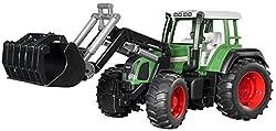 Fischer Technik Fendt Favorit 926 Vario tractor with frontloader