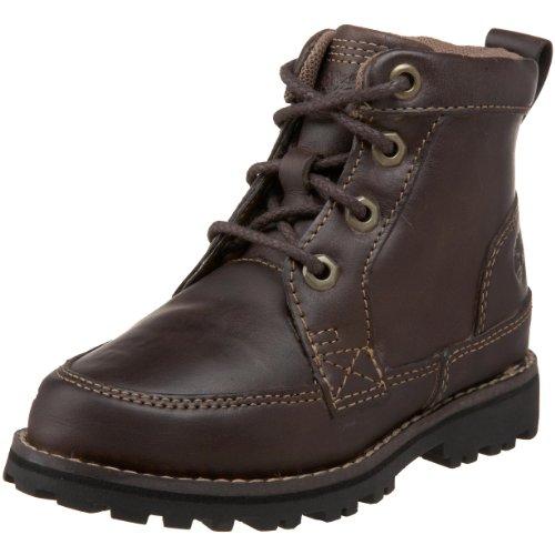 "Timberland Earthkeepers Asphalt Trail 6"" Side Zip Boot (Toddler/Little Kid/Big Kid),Dark Brown,7 M Us Big Kid front-956818"