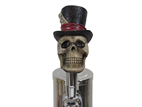 Lucky 13 Top Hat Sports Bar Beer Tap Handle Kegerator Resin Zombie Breweriana Bar (Cool Beer Tap compare prices)