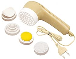 5 in 1 Heat Therapy Body Face Neck Facial Beauty Care Massager Vibrator - 35