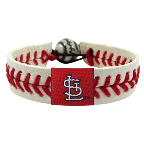 MLB St. Louis Cardinals Classic Baseball Bracelet at Amazon.com