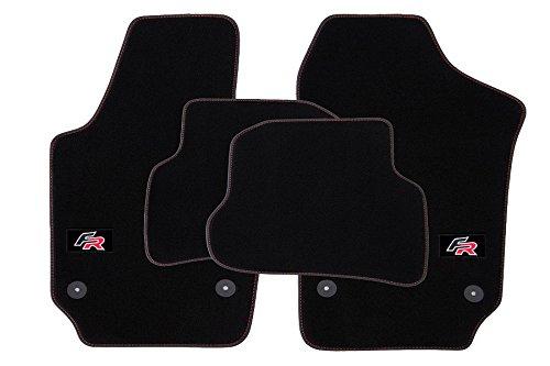 fr tapis de sol de voitures pour seat ibiza 5 v 6j 6p. Black Bedroom Furniture Sets. Home Design Ideas