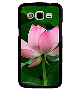 Printvisa Pink and white lotus With Leaves Background Back Case Cover for Samsung Galaxy J7::Samsung Galaxy J7 J700F