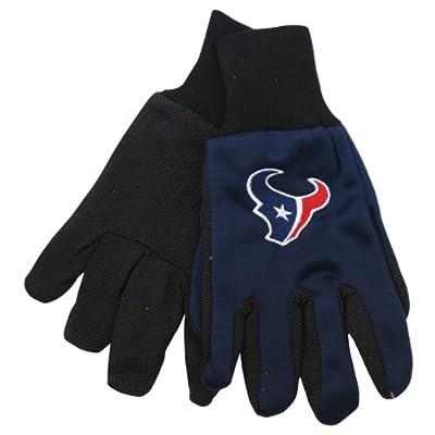 NFL Team Logo Grip Gloves - Houston Texans