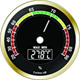 EXTREMELY ACCURATE NEW CALIBER IV ROUND DIGITAL HYGROMETER