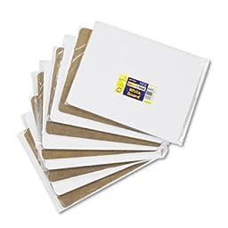 Unruled Student Dry-Erase Board, Melamine, 12 x 9, White, 10/Set, Sold as 1 Set, 10 Each per Set