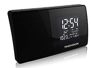 thomson ct254 radio r veil fm noir lecteurs mp3 casques. Black Bedroom Furniture Sets. Home Design Ideas