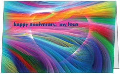 Anniversary Love Spouse Wife Husband Color Marriage